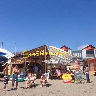 逗子海岸海の家 Seaside Living店舗